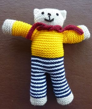 Jumper Knitting Pattern For A Teddy Bear : The Rotary Club of Lutterworth, District 1070